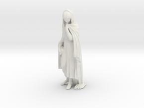 Printle V Femme 1221 - 1/24 - wob in White Natural Versatile Plastic