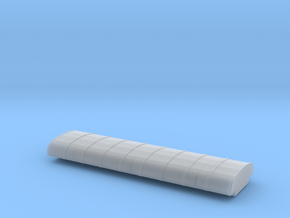 N Scale PRR X31f Turtle Roof Insert in Smooth Fine Detail Plastic