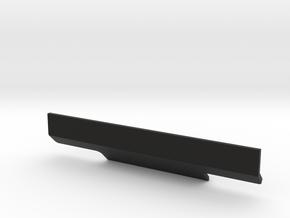 Tamiya Thundershot PARMA Rear Bumper in Black Natural Versatile Plastic