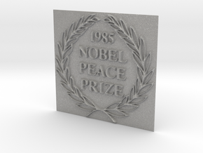 The 1985 Peace Nobel Prize in Aluminum: Extra Small