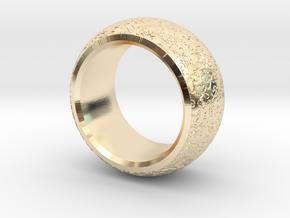mojomojo - Flower Vine modern ring design 1A in 14K Yellow Gold