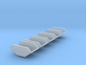 5x Mulde-5qm (1/220) in Smooth Fine Detail Plastic
