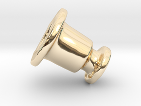 Hold Down Rv Dn 394-C in 14k Gold Plated Brass