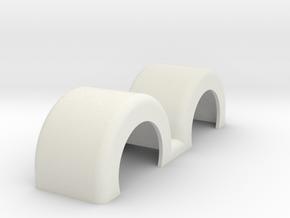 Fenders Doubleswept Revell Rev4 in White Natural Versatile Plastic