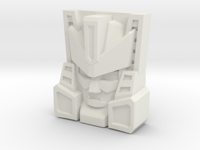 Overhaul Face (Titans Return/PoTP) in White Natural Versatile Plastic