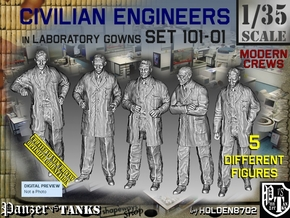 1/35 Engineers Set101-01 in Smooth Fine Detail Plastic
