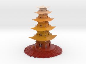 Pagoda in Matte Full Color Sandstone
