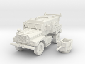 MRAP cougar 4x4 scale 1/72 in White Natural Versatile Plastic