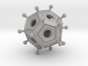 Roman Dodecahedron  in Aluminum
