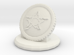 Betrayal At House On The Hill Omen - Medallion in White Natural Versatile Plastic