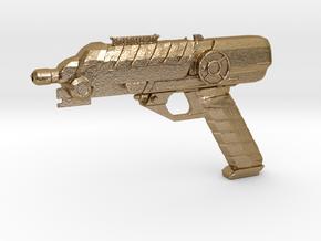 Scifi Blaster Z aprox 1:12 in Polished Gold Steel