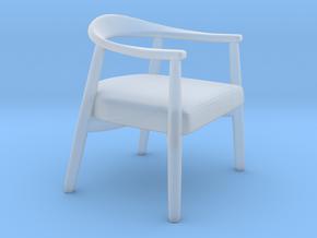 Miniature Tekton Chair - Natevo in Smooth Fine Detail Plastic: 1:12