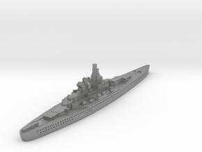 Alsace Class Battleship (France) Global War Scale in Gray PA12