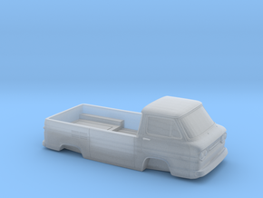 1/32 1961-65 Chevy Greenbrier PickUp Shell in Smooth Fine Detail Plastic