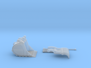 Excavator Attachment Vehicles - Shapeways Miniatures