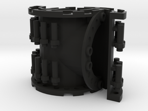Sewer Pipe Tee Set in Black Natural Versatile Plastic
