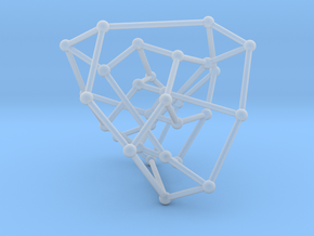 Tutte-Coxeter graph in Smooth Fine Detail Plastic