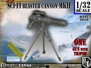 1/32 Sci-Fi Blaster Cannon MkII Set001 in Smooth Fine Detail Plastic
