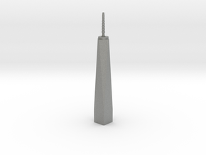 One World Trade Center - New York (1:6000) in Gray PA12