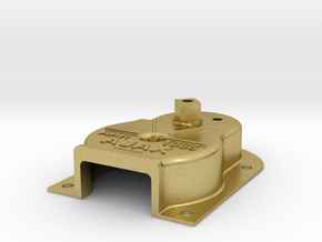 "3/4"" Ajax Brake Housing in Natural Brass"