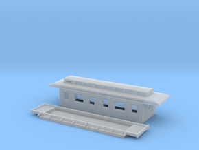 C3b - Swedish passenger wagon in Smooth Fine Detail Plastic