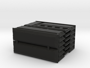 Bar Stone Set in Black Natural Versatile Plastic