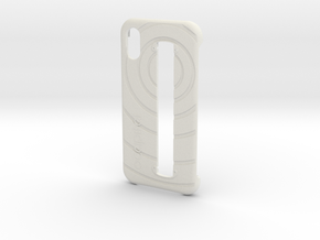 iPhone X Case for Structure Sensor in White Natural Versatile Plastic