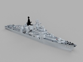 1/2000 CNS Taizhou in Smooth Fine Detail Plastic