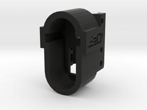 M4 Receiver Picatinny Mount Adapter Mark I in Black Premium Versatile Plastic