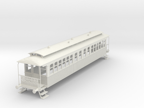 o-43-wcpr-bogie-coach in White Natural Versatile Plastic