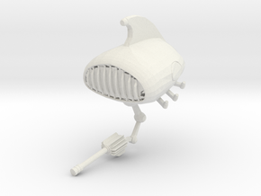 Speakerbot in White Natural Versatile Plastic