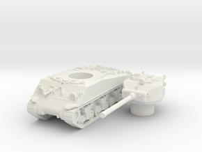 M4A3 76 scale 1/87 in White Natural Versatile Plastic