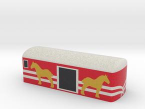NZ Vulcan Horse Van in Natural Full Color Sandstone
