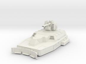 Hover Tank - Beam Cannon in White Natural Versatile Plastic