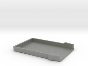 Business card holder [bottom part] in Gray PA12
