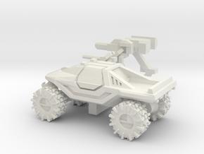 ATV 1 to 100 4x4 solid closed top in White Natural Versatile Plastic