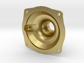 "3/4"" Locomotive Brake Cylinder Cap in Natural Brass"