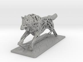 White Wolf in Aluminum