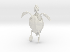 Great A Turtle Skeleton in White Natural Versatile Plastic