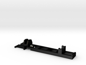 1:87 Herpa RC- frame 2 axle - 41mm in Matte Black Steel