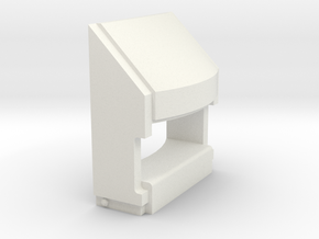 EMD draft sill (1:8) in White Natural Versatile Plastic
