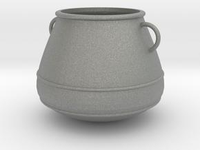 Kessel, Cauldron (124x124x103mm) in Gray Professional Plastic