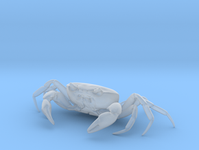 CRAB Sculpture, 8.4cm length in Smooth Fine Detail Plastic