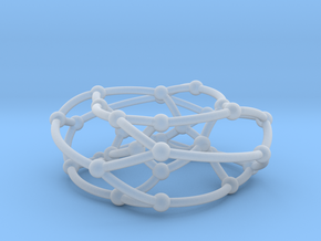 Dyck graph on torus in Smooth Fine Detail Plastic