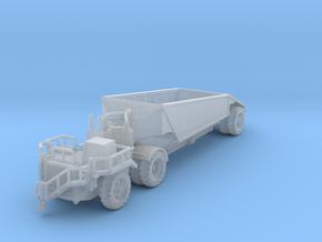 RimpulDart 4175B coal hauler bottom dumptruck in Smoothest Fine Detail Plastic: 1:400