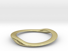 BENTorus Steel 0012flat in 18k Gold Plated Brass