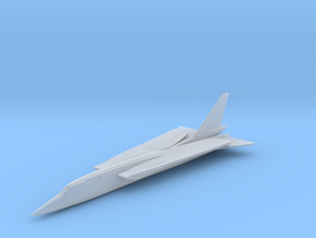 Republic TFX Fighter Proposal in Smooth Fine Detail Plastic: 1:200