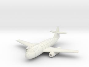 (1:144) Messerschmitt Me P.1099A in White Natural Versatile Plastic