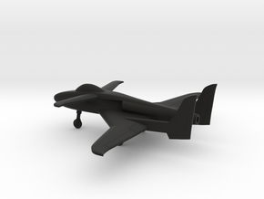 Scaled Composites 151 ARES in Black Natural Versatile Plastic: 1:160 - N