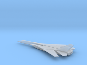 Lockheed Mach 5 Hypersonic Carrier Plane in Smooth Fine Detail Plastic